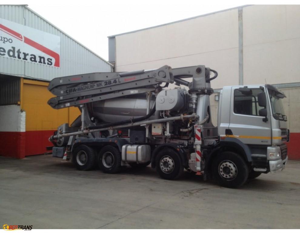 b tonni re baryval 8m3 pompes b ton cifa 28 mts daf spain trucks sales. Black Bedroom Furniture Sets. Home Design Ideas