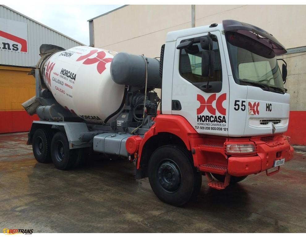 renault kerax 300 malaxeur camion 8m3 frumecar spain trucks sales. Black Bedroom Furniture Sets. Home Design Ideas
